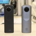 動画編:360度カメラ THETAは S それとも V ?